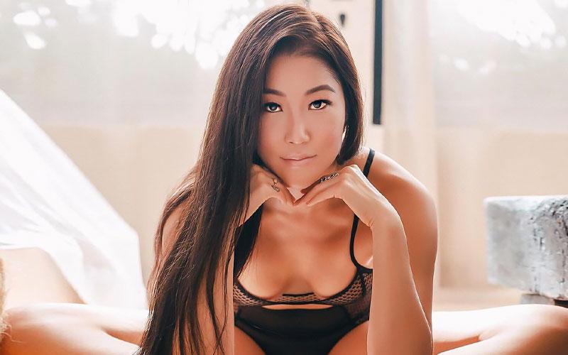 beautiful vietnamese woman in bra
